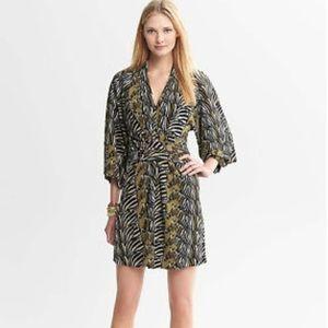 Banana Republic Issa London Zebra Kimono Dress